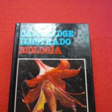 Libros de segunda mano: LIBRO BIOLOGÍA CAMBRIDGE ILUSTRADO DICCIONARIO ENCICLOPÉDICO GRIJALBO 1987 ENVÍO GRATIS. Lote 56392230