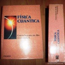 Libros de segunda mano de Ciencias: FÍSICA CUÁNTICA / CARLOS SÁNCHEZ DEL RÍO, COORD.. Lote 56409535