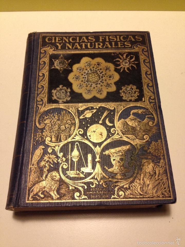 LIBRO DE CIENCIAS FISICAS Y NATURALES DE LUIS POSTIGO, 1942. (Libros de Segunda Mano - Ciencias, Manuales y Oficios - Física, Química y Matemáticas)
