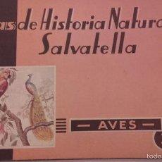 Libros de segunda mano: ATLAS DE HISTORIA NATURAL SALVATELLA - AVES - Nº3 - 1ª EDICION 1951. Lote 56634053