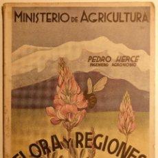 Libros de segunda mano - Flora y Regiones Melíferas de España - autor: Pedro Herce - Ministerio Agricultura 1952 - 56666390