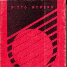 Libros de segunda mano de Ciencias: SIXTO ROMERO. ANÁLISIS MATEMÁTICO. EDICIÓN DEL AUTOR. HUELVA 1988.. Lote 56725833