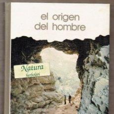 Livros em segunda mão: EL ORIGEN DEL HOMBRE - PIERRE BIBERSON - EMILIANO AGUIRRE - BIBLIOTECA SALVAT DE GRANDES TEMAS. Lote 56740178