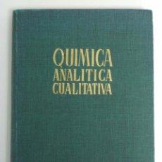 Libros de segunda mano de Ciencias: FERNANDO BURRIEL / FELIPE LUCENA / SIRO ARRIBAS - QUÍMICA ANALÍTICA CUALITATIVA. PARANINFO, 1970.. Lote 56825817