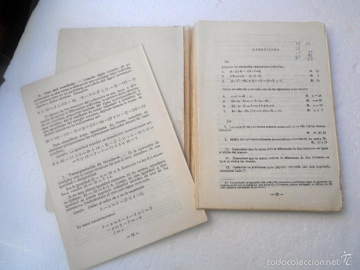 Libros de segunda mano de Ciencias: Libro de Algebra - Foto 3 - 56934896