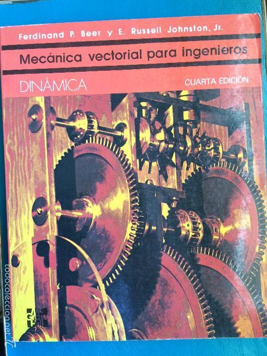 MECÁNICA VECTORIAL PARA INGENIEROS. FERDINAND Y RUSSEL. 1986 (Libros de Segunda Mano - Ciencias, Manuales y Oficios - Física, Química y Matemáticas)