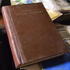 """Libros de segunda mano de Ciencias: INTRODUCCIÓN A LA FÍSICA TEÓRICA. CABRERA Y FELIPE, JUAN. """"EL NOTICIERO"""", ZARAGOZA, 1943. 2ª EDICIÓN. Lote 57113774"""