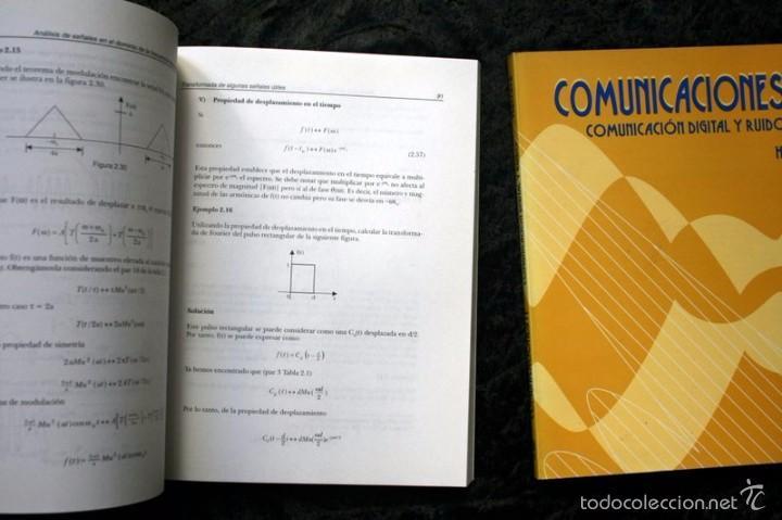 Libros de segunda mano de Ciencias: COMUNICACIONES I y II / SEÑALES, MODULACION Y TRANSMISION / COMUNICACIÓN DIGITAL Y RUIDO - HERRERA - Foto 2 - 57143787