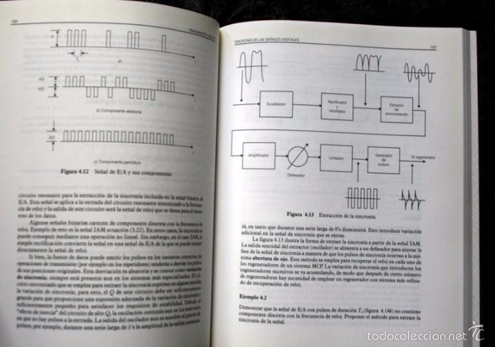 Libros de segunda mano de Ciencias: COMUNICACIONES I y II / SEÑALES, MODULACION Y TRANSMISION / COMUNICACIÓN DIGITAL Y RUIDO - HERRERA - Foto 3 - 57143787