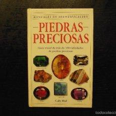 Libros de segunda mano: PIEDRAS PRECIOSAS, CALLY HALL. Lote 57269384