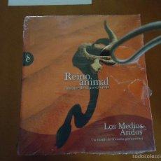 Libros de segunda mano: ENCICLOPEDIA TOMOS - REINO ANIMAL. INSTINTO SUPERVIVENCIA - ED. SIGNO, AÑO 2011 LOS MEDIOS ARIDOS . Lote 57689080