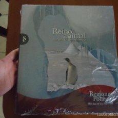 Libros de segunda mano: ENCICLOPEDIA TOMOS - REINO ANIMAL. INSTINTO SUPERVIVENCIA - ED. SIGNO, AÑO 2011 REGIONES POLARES. Lote 57689105