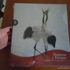 Libros de segunda mano: ENCICLOPEDIA TOMOS - REINO ANIMAL. INSTINTO SUPERVIVENCIA - ED. SIGNO, AÑO 2011 PRADERAS Y ESTEPAS. Lote 57689116