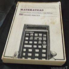 Libros de segunda mano de Ciencias: MATEMATICAS CURSO DE ORIENTACION UNIVERSITARIA FRANCISCO BERNIS,ANTONIO MALET Y CESAR MOLINAS. Lote 57816834