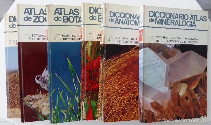 diccionario atlas de botanica, zoologia, anatom - Comprar Libros de ...