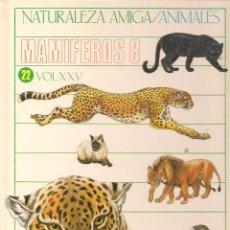 Libros de segunda mano: NATURALEZA AMIGA / ANIMALES. MAMIFEROS 8. ISABEL PORTELA. MONTENA-MONDIBERICA 1985. (Z21). Lote 57819683
