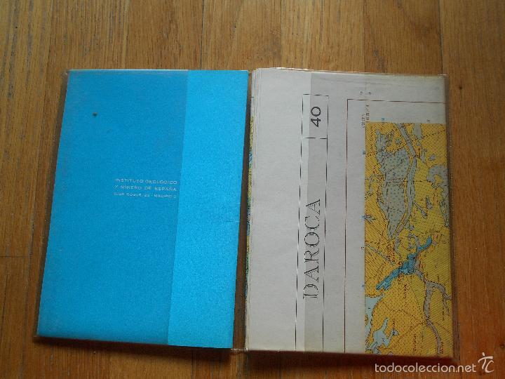 Libros de segunda mano: IGME, MAPA GEOLOGICO DE ESPAÑA, DAROCA ,Numero 40, Primera Edicion - Foto 2 - 57823456