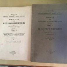 Libros de segunda mano: MEMORIAS DEL INSTITUTO GEOLOGICO Y MINERO DE ESPAÑA. NUEVO MAPA GEOLÓGICO. TOMO I-II. AÑO 1932-1942.. Lote 57866145