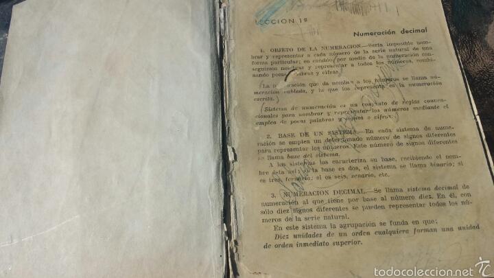 Libros de segunda mano de Ciencias: Matematicas tercer curso Bachillerato. ARITMETICA. PLAN 1957 - Foto 2 - 57871316