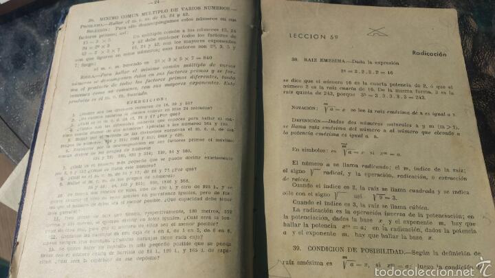 Libros de segunda mano de Ciencias: Matematicas tercer curso Bachillerato. ARITMETICA. PLAN 1957 - Foto 3 - 57871316