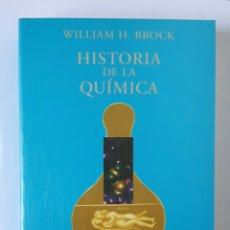 Libros de segunda mano de Ciencias: WILLIAM H. BROCK. HISTORIA DE LA QUÍMICA. ALIANZA EDITORIAL, 1998. 619 PÁGS. ILUSTRADO.. Lote 58097424
