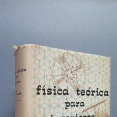 Libros de segunda mano de Ciencias: FISICA TEORICA PARA INGENIEROS. VV.AA. Lote 58160635