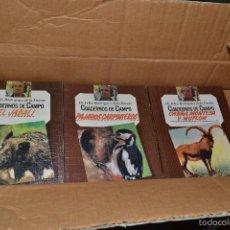 Libros de segunda mano: CUADERNOS DE CAMPO FELIX RODRIGUEZ DE LA FUENTE.. Lote 58256162