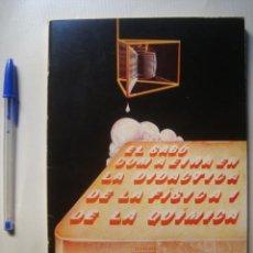 Libros de segunda mano de Ciencias: EL SABÓ COM A EINA EN LA DIDÀCTICA DE LA FÍSICA I DE LA QUÍMICA (1984), DE SEBA CANELA CORTEL I ROCA. Lote 58282597