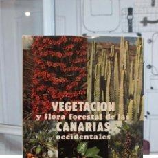 Libros de segunda mano: ESTUDIO SOBRE LA VEGETACION Y FLORA FORESTAL DE LAS CANARIAS OCCIDENTALES.AÑO 1976.LUIS CEBALLOS. Lote 58346650