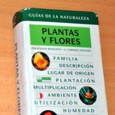 Libros de segunda mano: GUÍAS DE LA NATURALEZA GRIJALBO - PLANTAS Y FLORES - EDITORIAL GRIJALBO - 2ª EDICIÓN - AÑO 1999. Lote 58360539