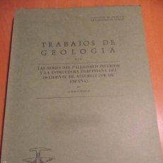 Libros de segunda mano: TRABAJOS DE GEOLOGIA. Nº 6. FACULTAD DE CIENCIAS. UNIVERSIDAD DE OVIEDO. 1973. RUSTICA. 670 GRAMOS.. Lote 58433090