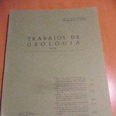 Libros de segunda mano: TRABAJOS DE GEOLOGIA. Nº 11. FACULTAD DE CIENCIAS. UNIVERSIDAD DE OVIEDO. 1981. RUSTICA. 410 GRAMOS.. Lote 58433118