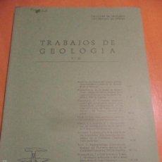Libros de segunda mano: TRABAJOS DE GEOLOGIA. Nº 13. FACULTAD DE CIENCIAS. UNIVERSIDAD DE OVIEDO. 1983. RUSTICA. 370 GRAMOS.. Lote 58433128