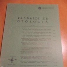 Libros de segunda mano: TRABAJOS DE GEOLOGIA. Nº 16. FACULTAD DE CIENCIAS. UNIVERSIDAD DE OVIEDO. 1986. RUSTICA. 280 GRAMOS.. Lote 58433135