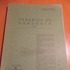 Libros de segunda mano: TRABAJOS DE GEOLOGIA. Nº 14. FACULTAD DE CIENCIAS. UNIVERSIDAD DE OVIEDO. 1984. RUSTICA. 550 GRAMOS.. Lote 58433148