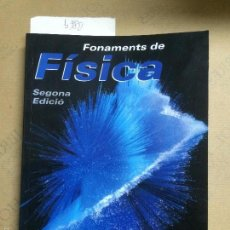Libros de segunda mano de Ciencias: FONAMENTS DE FÍSICA, TOMÁS, ALBERTO, 2006. Lote 118127268
