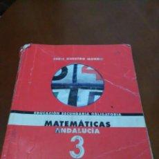 Libros de segunda mano de Ciencias: MATEMATICAS ANDALUCIA 3 ANAYA. Lote 58709583