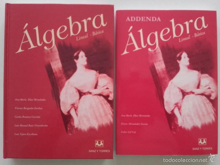 ALGEBRA LINEAL BASICA / ADDENDA ALGEBRA LINEAL BASICA - ED. SANZ Y TORRES - MATEMATICAS (Libros de Segunda Mano - Ciencias, Manuales y Oficios - Física, Química y Matemáticas)