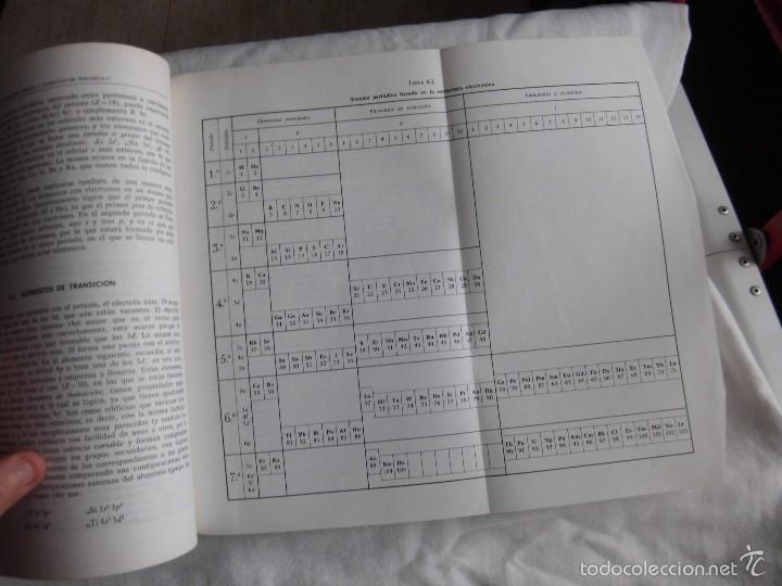 Libros de segunda mano de Ciencias: TEMAS BASICOS DE QUIMICA.J.MORCILLO.EDITORIAL ALHAMBRA 1980 - Foto 6 - 59585023