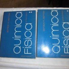 Libros de segunda mano de Ciencias: QUIMICA FISICA 2 TOMOS GORDON M.BARROW.-3ª EDICION 1978.EDITORIAL REVERTE. Lote 59587667