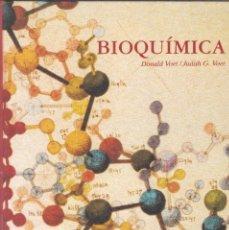 Libros de segunda mano de Ciencias: BIOQUÍMICA - DONALD VOET Y JUDITH G. VOET - EDICIONES OMEGA, BARCELONA, 1992.. Lote 60249727