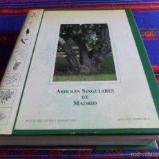 Libros de segunda mano: ÁRBOLES SINGULARES DE MADRID DE JAVIER CANTERO. 1993 BUEN ESTADO.. Lote 60327351