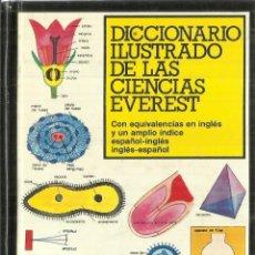 Libros de segunda mano: DICCIONARIO ILUSTRADO DE LAS CIENCIAS EVEREST. LEON. 1981. Lote 89525976