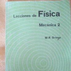Libros de segunda mano de Ciencias: LECCIONES DE FÍSICA - MECÁNICA I - 1993 - 310 PÁGINAS. Lote 79804186