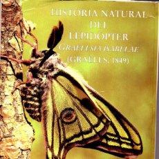 Libros de segunda mano: JOSEP YLLA I ULLASTRE : HISTÒRIA NATURAL DEL LEPIDÒPTER (1997) EN CATALÁN - ENTOMOLOGÍA. Lote 61272359