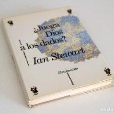 Libros de segunda mano de Ciencias: IAN STEWART. ¿JUEGA DIOS A LOS DADOS? CRÍTICA, SERIE DRAKONTOS, BARCELONA, 1991. Lote 61395111