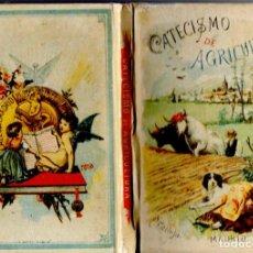 Libros de segunda mano: GONZÁLEZ Y FERNÁNDEZ : CATECISMO DE AGRICULTURA SATURNINO CALLEJA 1893 (FACSÍMIL). Lote 111377066
