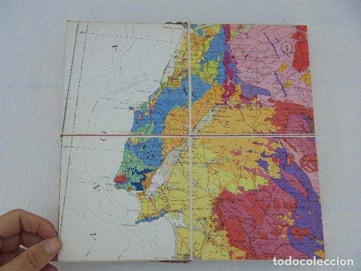 Libros de segunda mano: MAPA GEOLOGICO DE ESPAÑA. ESCALA 1: 1000000. DESPLEGABLE ENTELADO. INSTITUTO GEOLOGICO Y MINERO. - Foto 9 - 61535240
