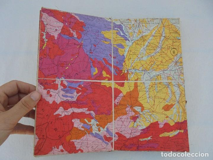 Libros de segunda mano: MAPA GEOLOGICO DE ESPAÑA. ESCALA 1: 1000000. DESPLEGABLE ENTELADO. INSTITUTO GEOLOGICO Y MINERO. - Foto 10 - 61535240