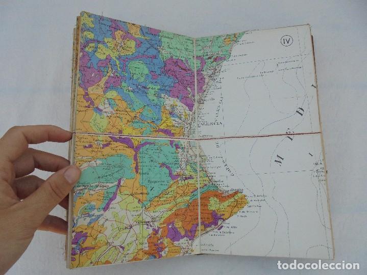 Libros de segunda mano: MAPA GEOLOGICO DE ESPAÑA. ESCALA 1: 1000000. DESPLEGABLE ENTELADO. INSTITUTO GEOLOGICO Y MINERO. - Foto 12 - 61535240